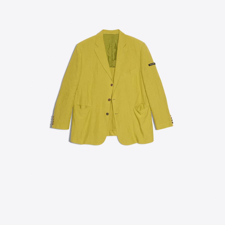 BALENCIAGA Washed Single Breasted Jacket Jacket U f