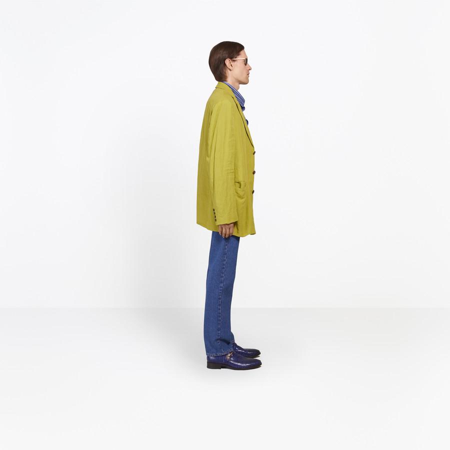 BALENCIAGA Washed Single Breasted Jacket Jacket U i