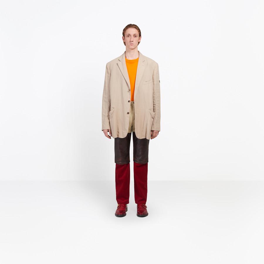 BALENCIAGA Washed Single Breasted Jacket Jacket U g