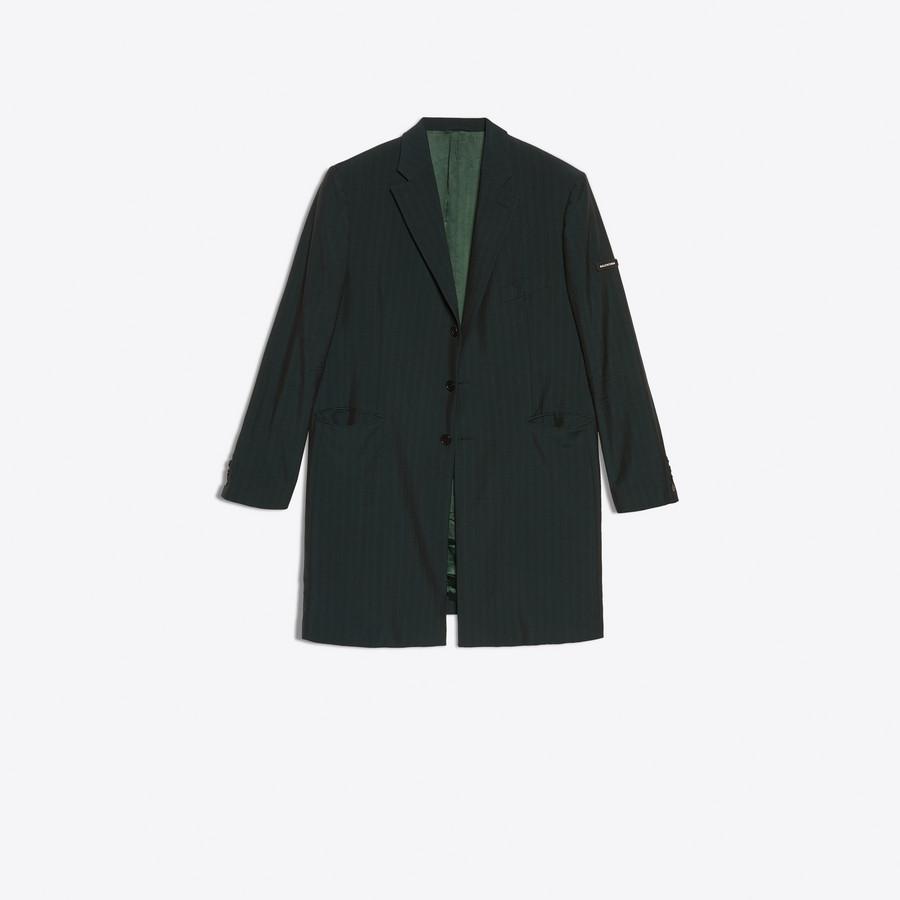 BALENCIAGA Washed Single Breasted Coat Coats U f
