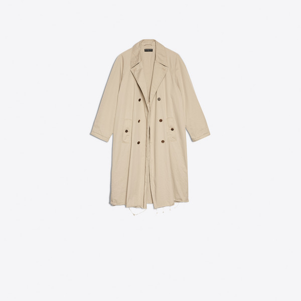 Trenchcoat in gewaschener Optik