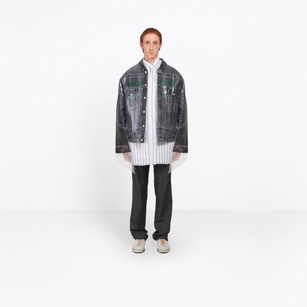 Dry Clean Big Denim Jacket