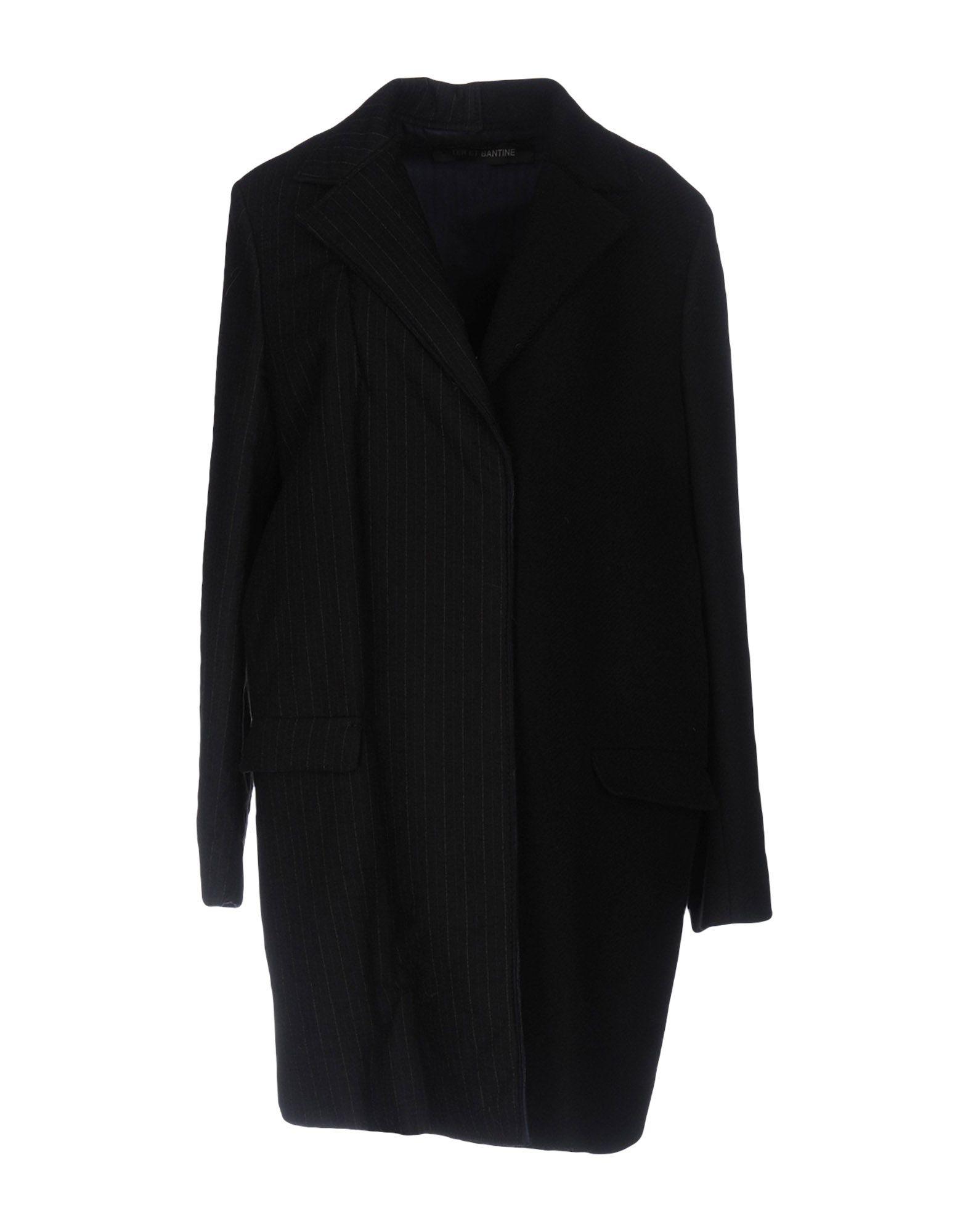 TER ET BANTINE Coat in Black