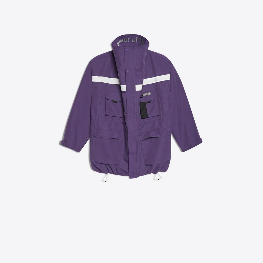BALENCIAGA Profil Collar Parka Coats U f