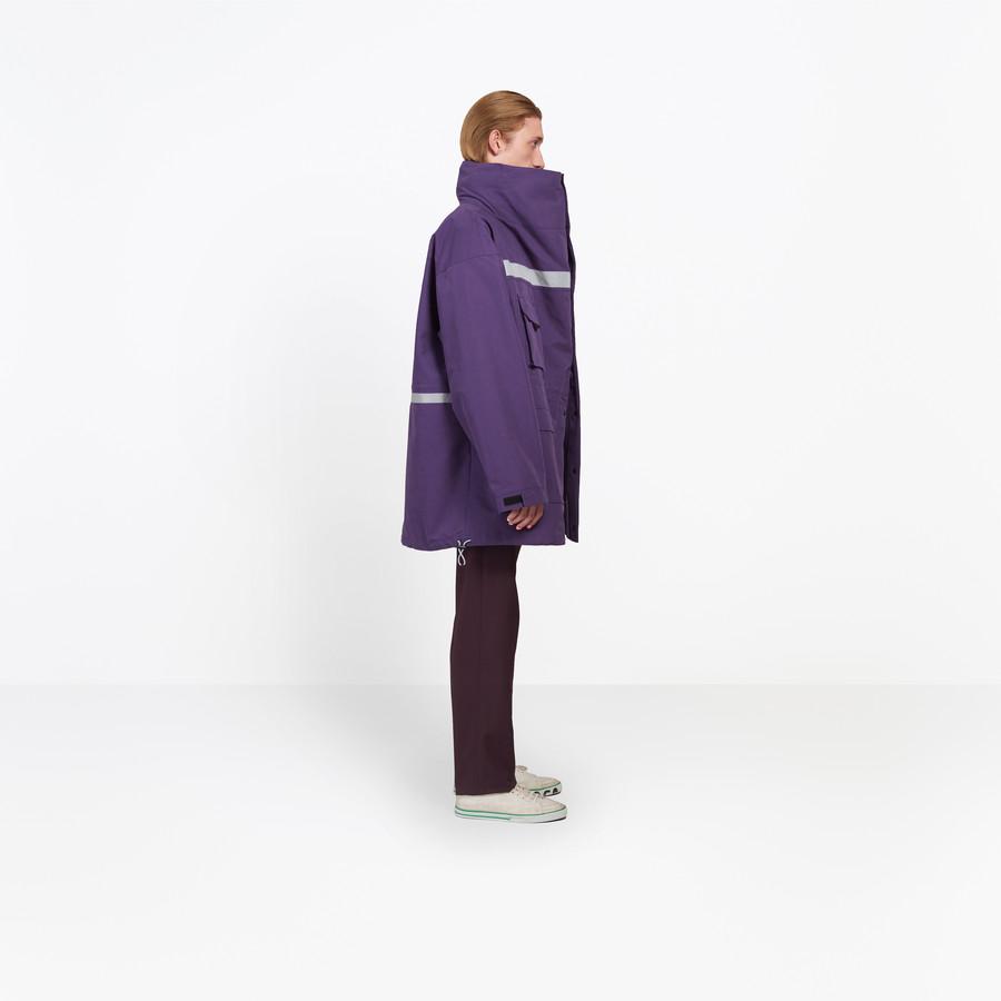 BALENCIAGA Profil Collar Parka Coats U i