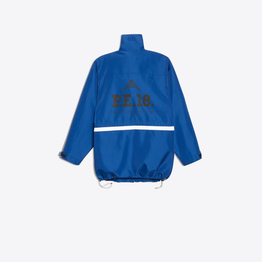BALENCIAGA Profil Collar Parka Coats Man d