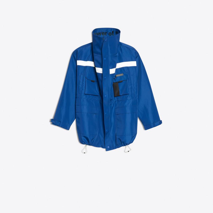 BALENCIAGA Profil Collar Parka Coats Man f