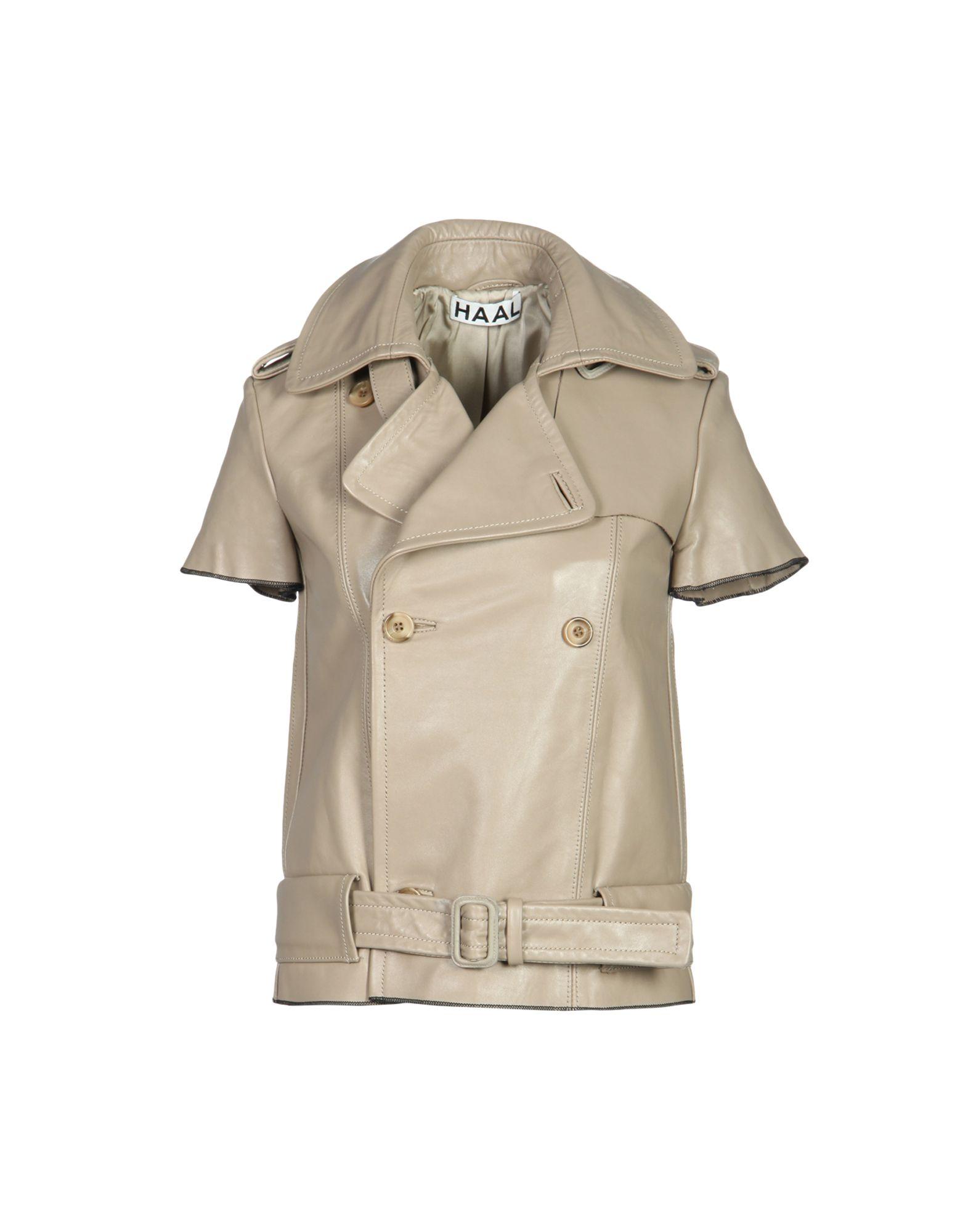 HAAL Jackets in Light Brown
