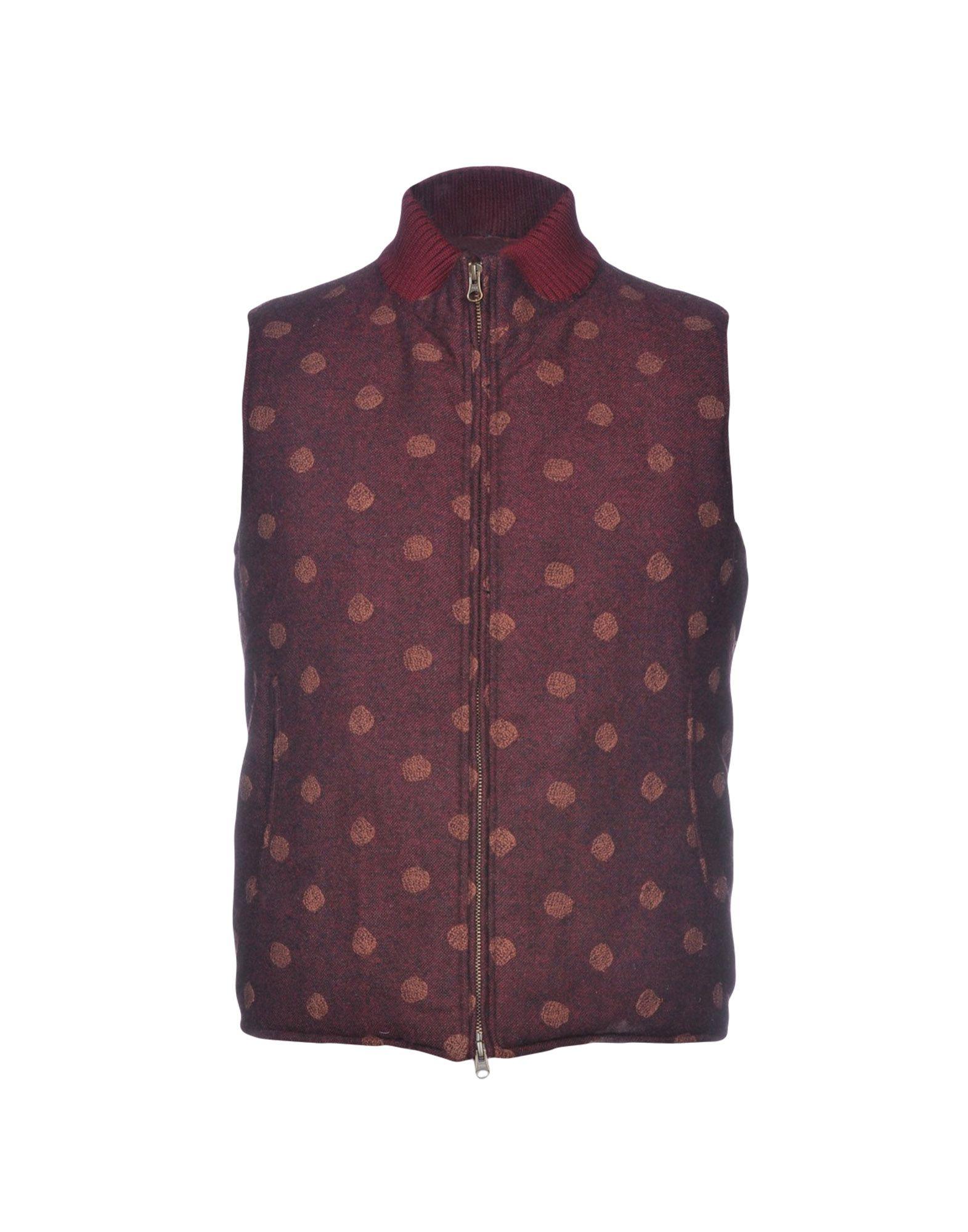 MONTEDORO Down Jacket in Maroon