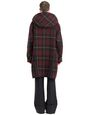 LANVIN Outerwear Man CHECKERED DUFFLE COAT f