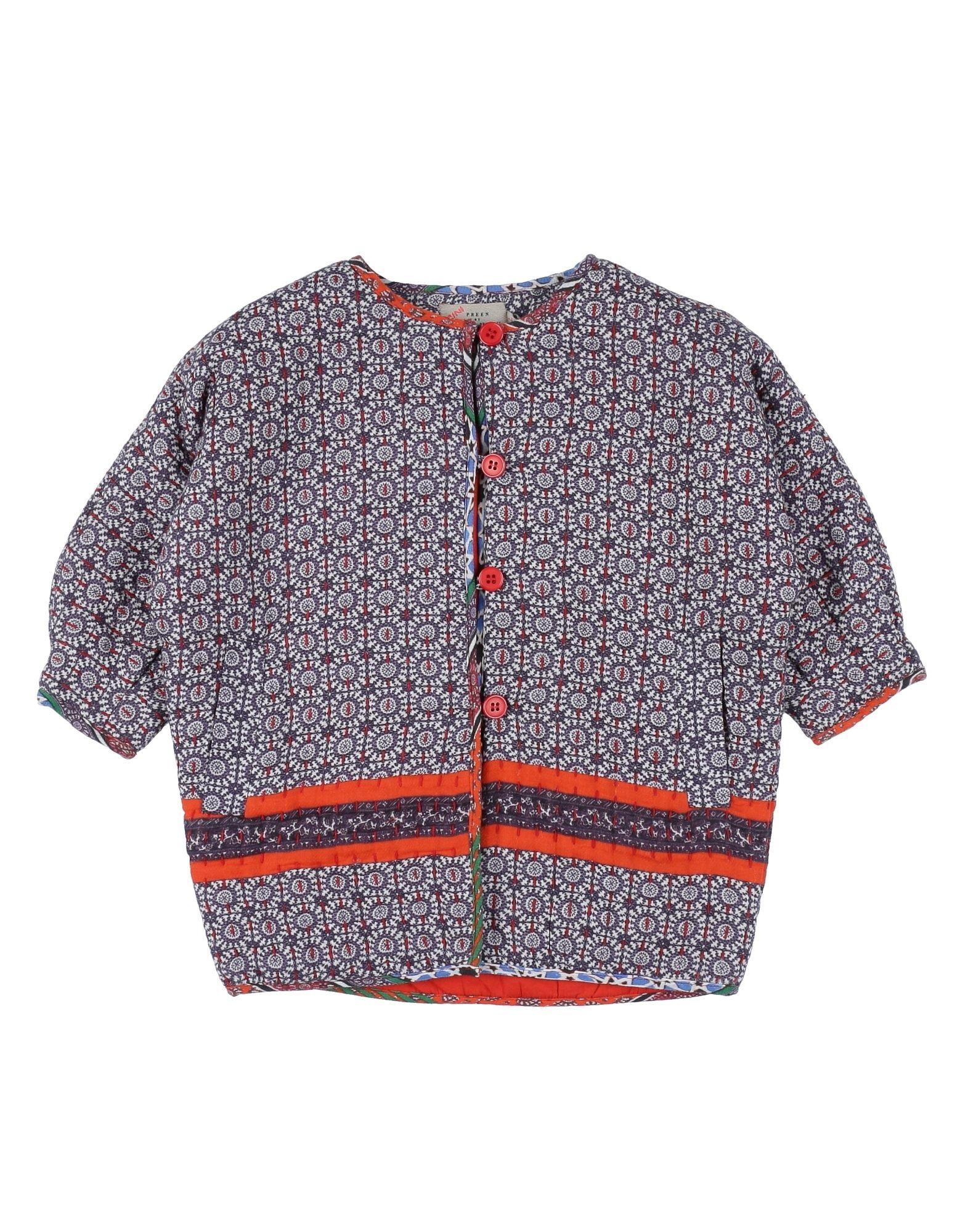 PREEN by THORNTON BREGAZZI Mädchen 0-24 monate Lange Jacke Farbe Violett Größe 10