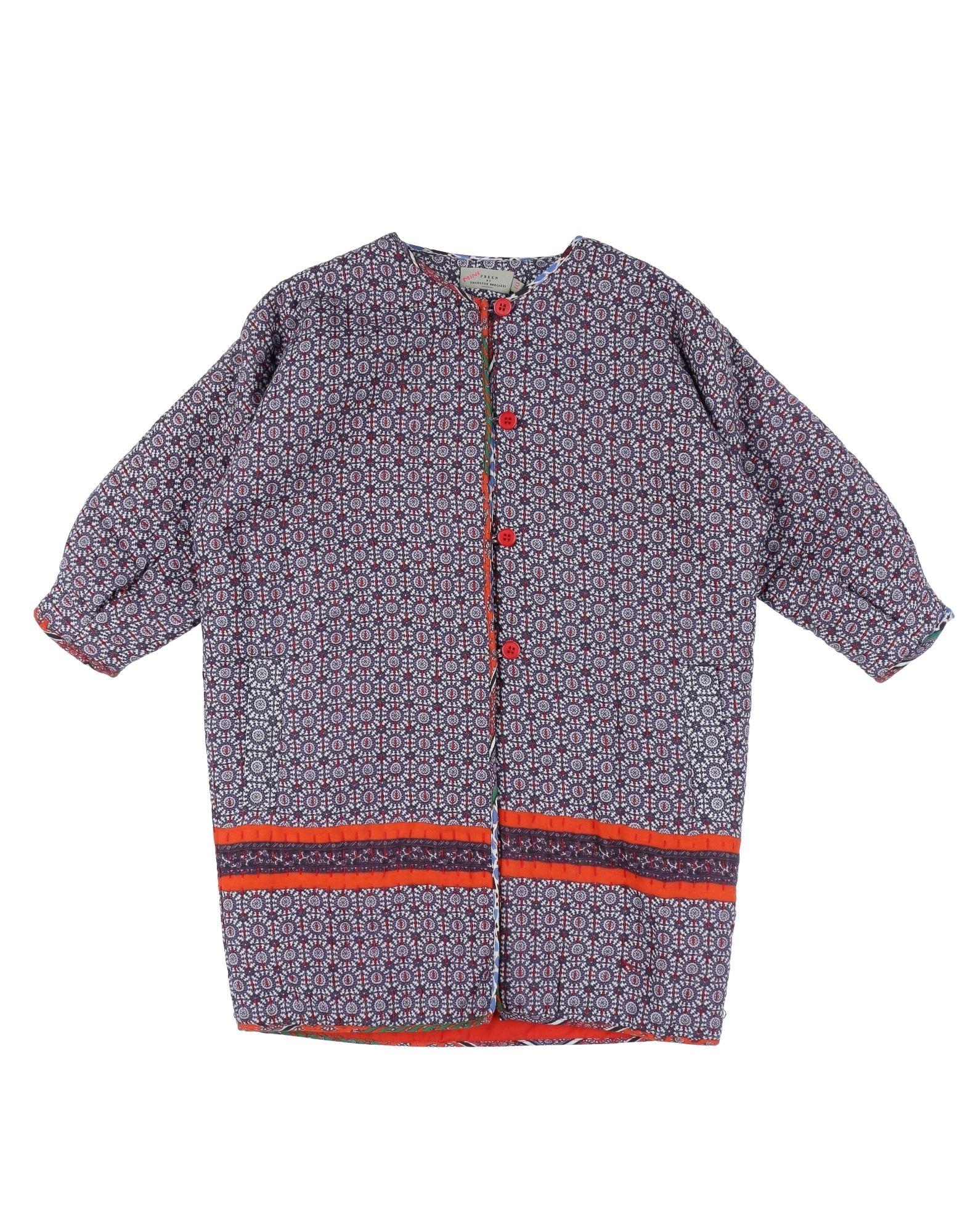 PREEN by THORNTON BREGAZZI Mädchen 9-16 jahre Lange Jacke Farbe Violett Größe 2