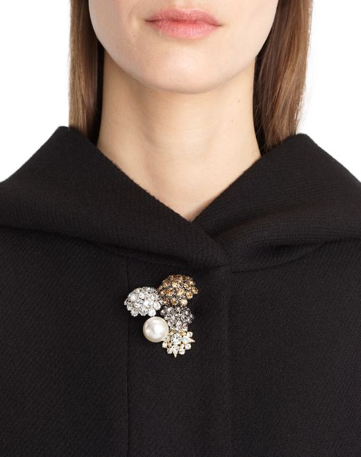 lanvin wool cloth coat women