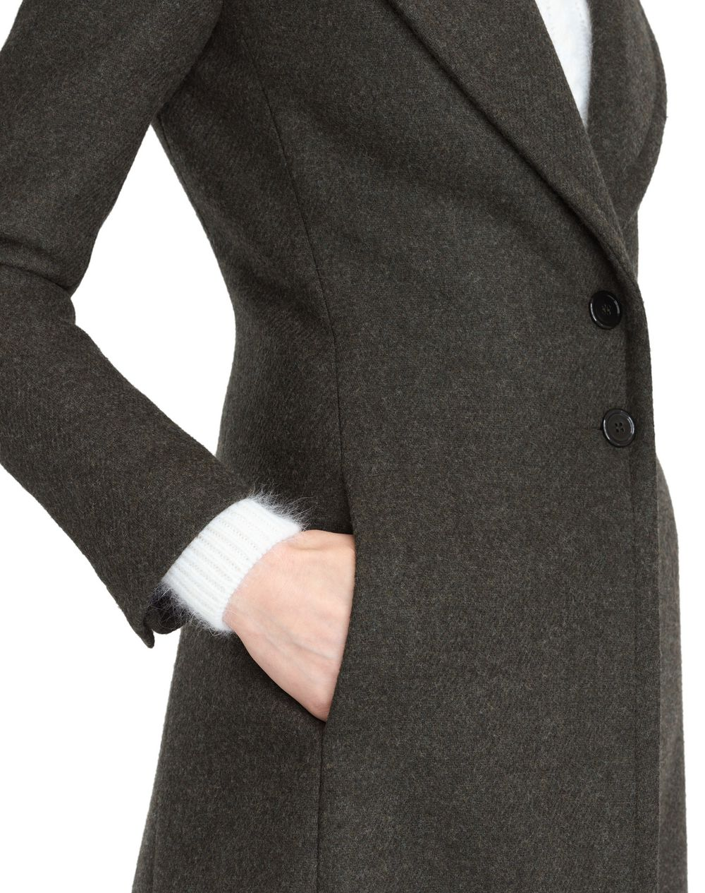 WOOL CLOTH COAT - Lanvin