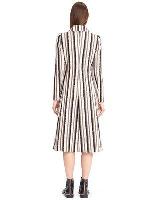 LANVIN WOVEN STRIPE COAT Outerwear D d