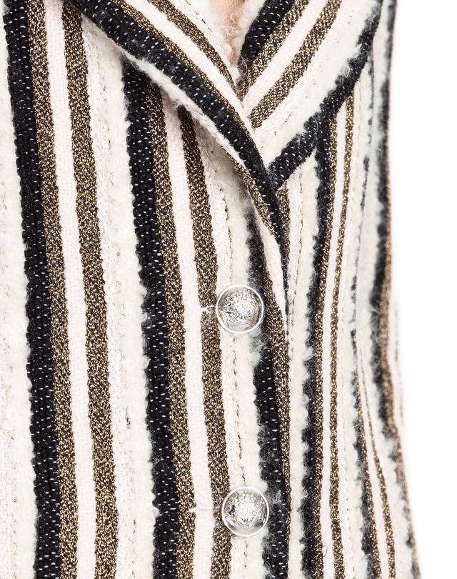 LANVIN WOVEN STRIPE COAT Outerwear D a