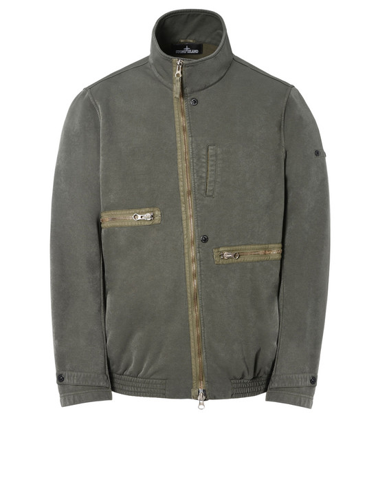STONE ISLAND SHADOW PROJECT Mid-length jacket 41001 TILT STORAGE JACKET WITH DROP POCKET (DUAL COMPOSITE JERSEY) SINGLE LAYER FABRIC - GARMENT DYED WITH ANTI-DROP AGENT