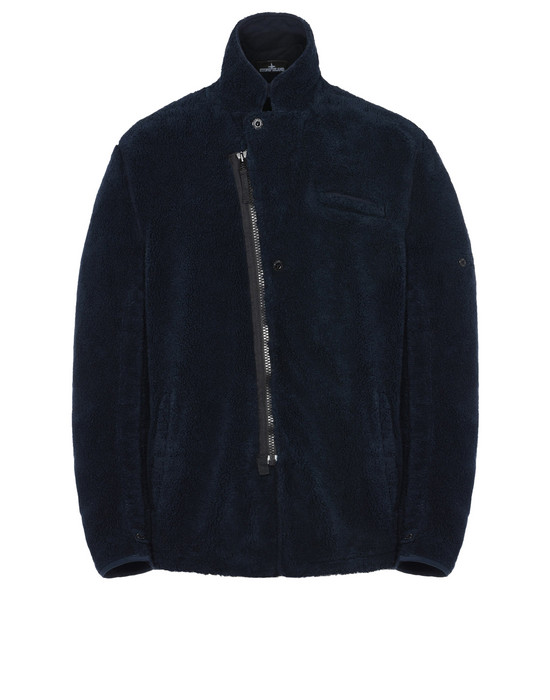 STONE ISLAND SHADOW PROJECT Blazer A0306 ADJUSTABLE BLAZER WITH DROP POCKET AND ARTICULATION TUNNELS (TERRY COTTON FLEECE) GARMENT DYED