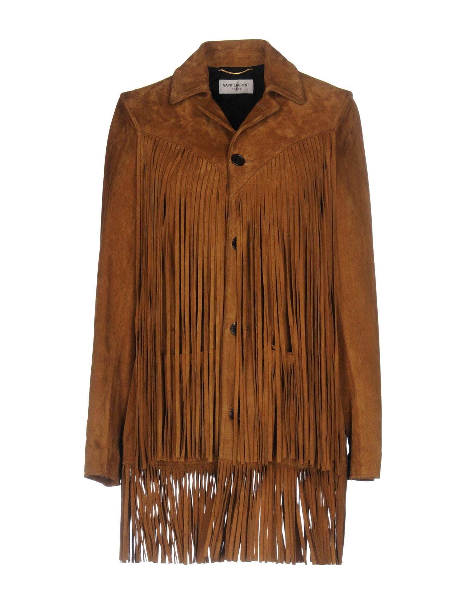 SAINT LAURENT Куртка saint laurent джинсовая верхняя одежда