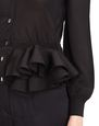 LANVIN Jacket Woman KNIT AND FRILL JACKET f