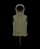 MONCLER COLLIDE RAY ARMY - Chalecos - hombre