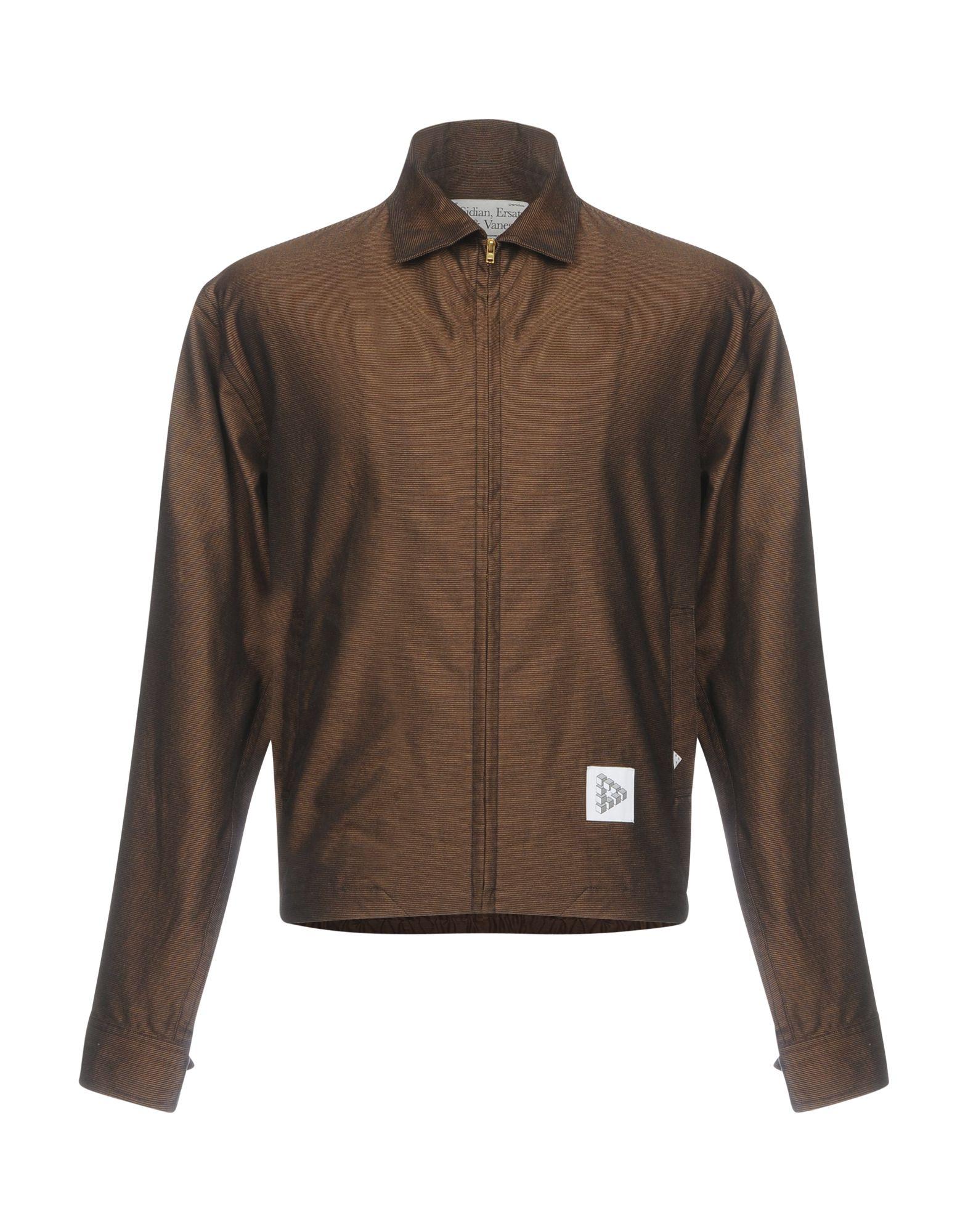 SIDIAN, ERSATZ & VANES Jacket in Dark Brown
