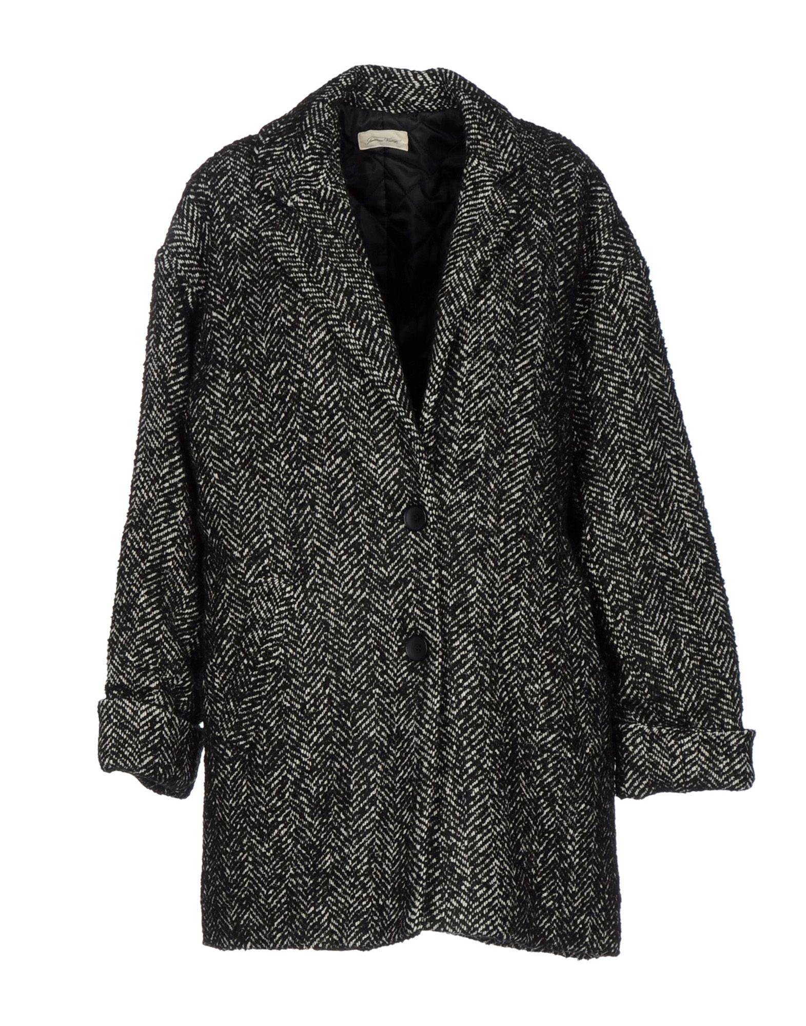 AMERICAN VINTAGE Coat in Steel Grey