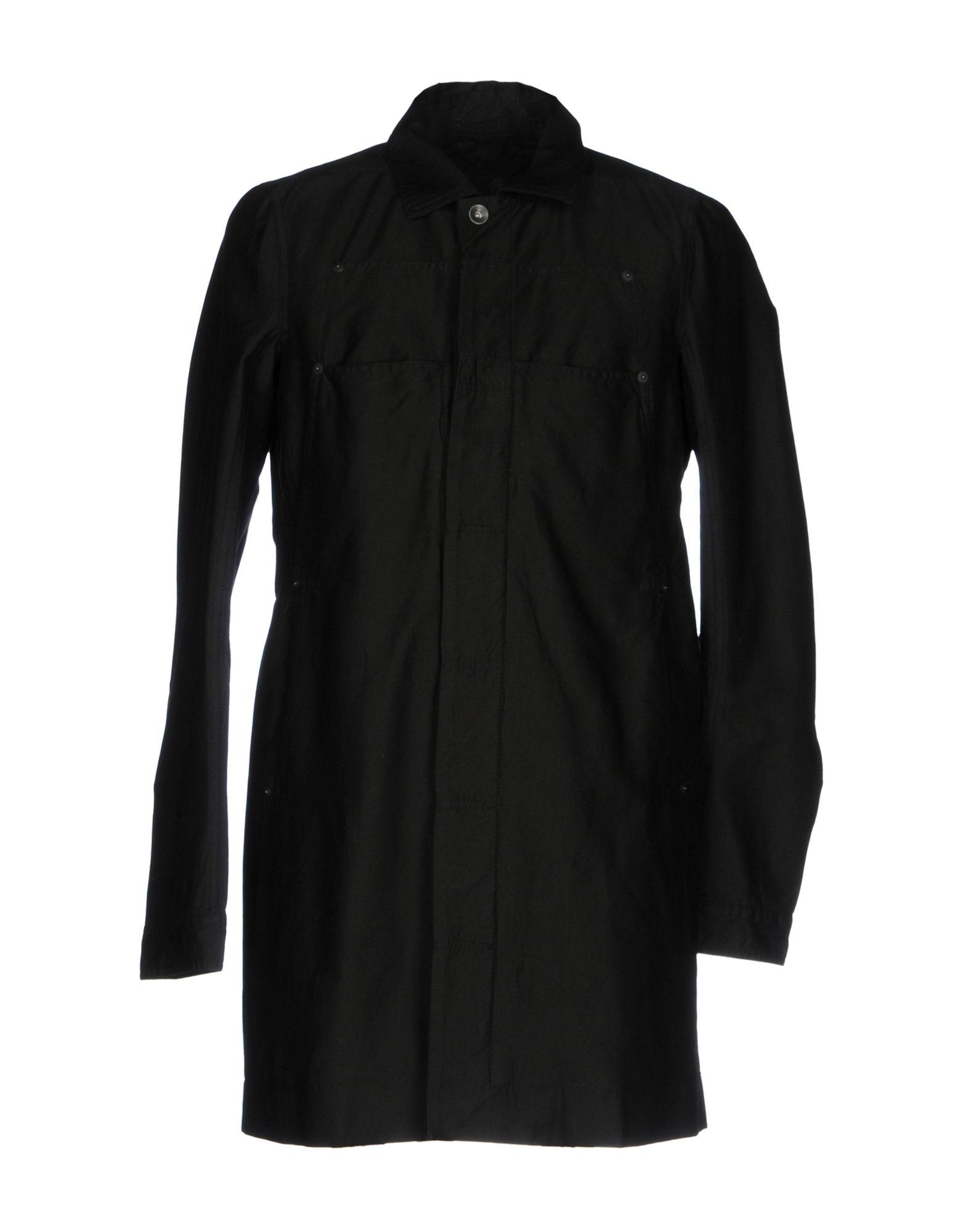 цена DRKSHDW by RICK OWENS Легкое пальто онлайн в 2017 году