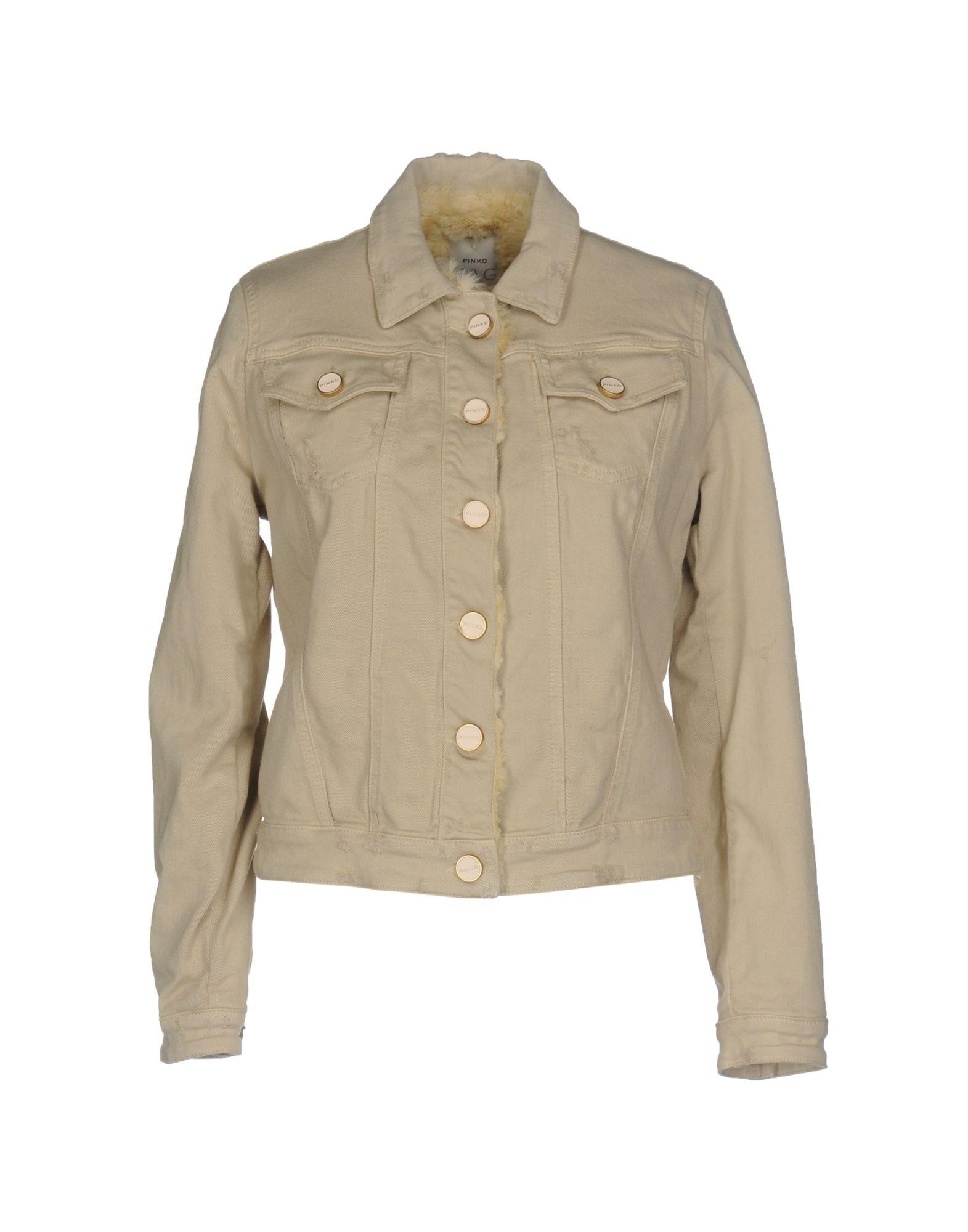 PINKO Джинсовая верхняя одежда colmar джинсовая верхняя одежда