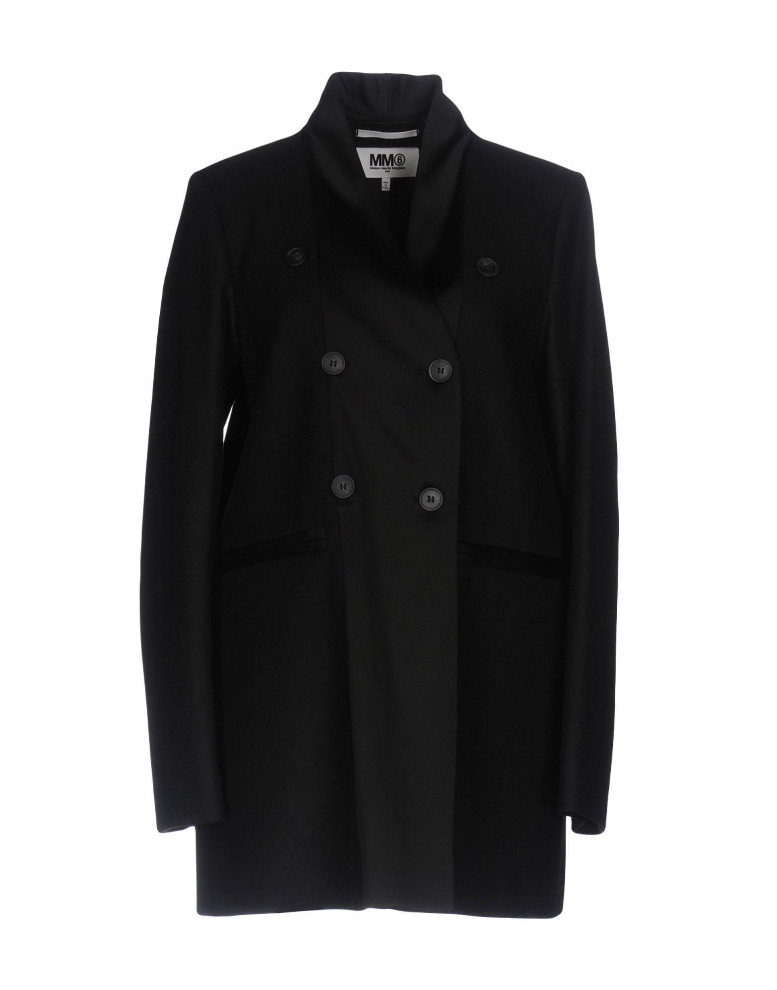 MM6 MAISON MARGIELA Пальто mm6 maison margiela перчатки