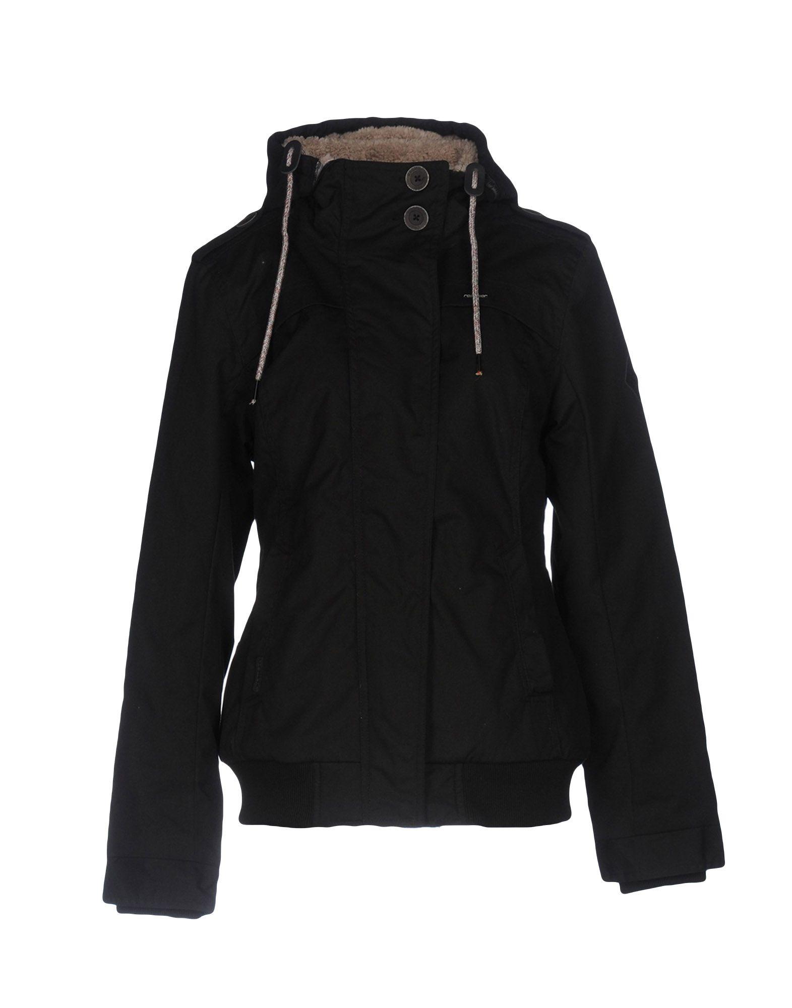 RAGWEAR Damen Jacke Farbe Schwarz Größe 4