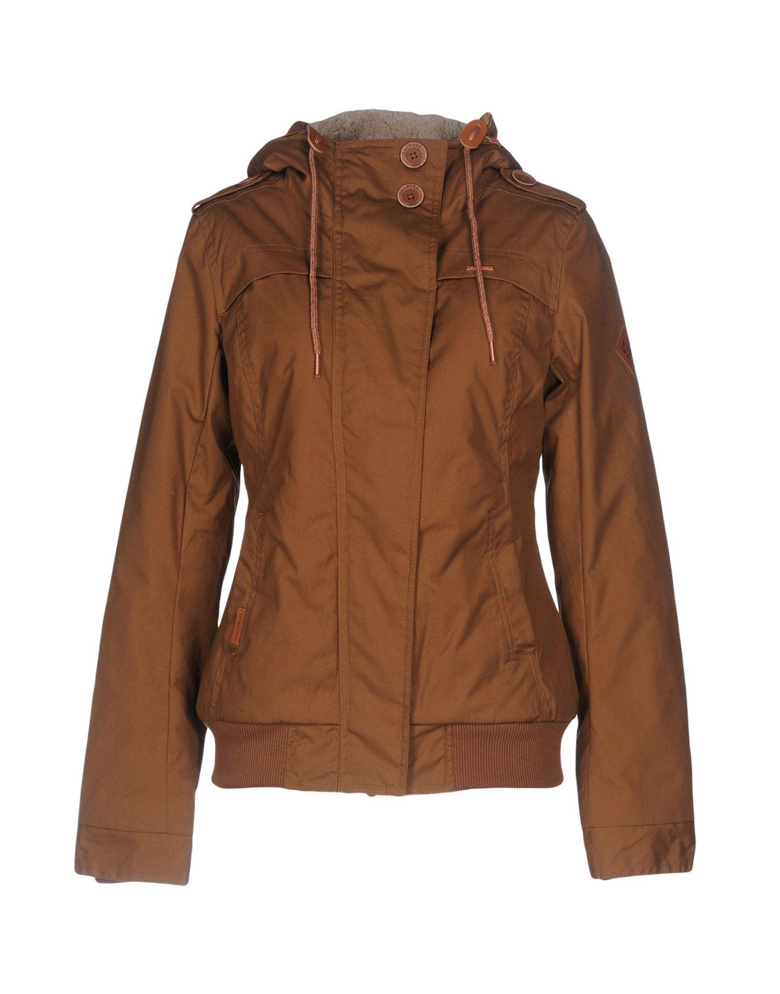 RAGWEAR Damen Jacke Farbe Braun Größe 7