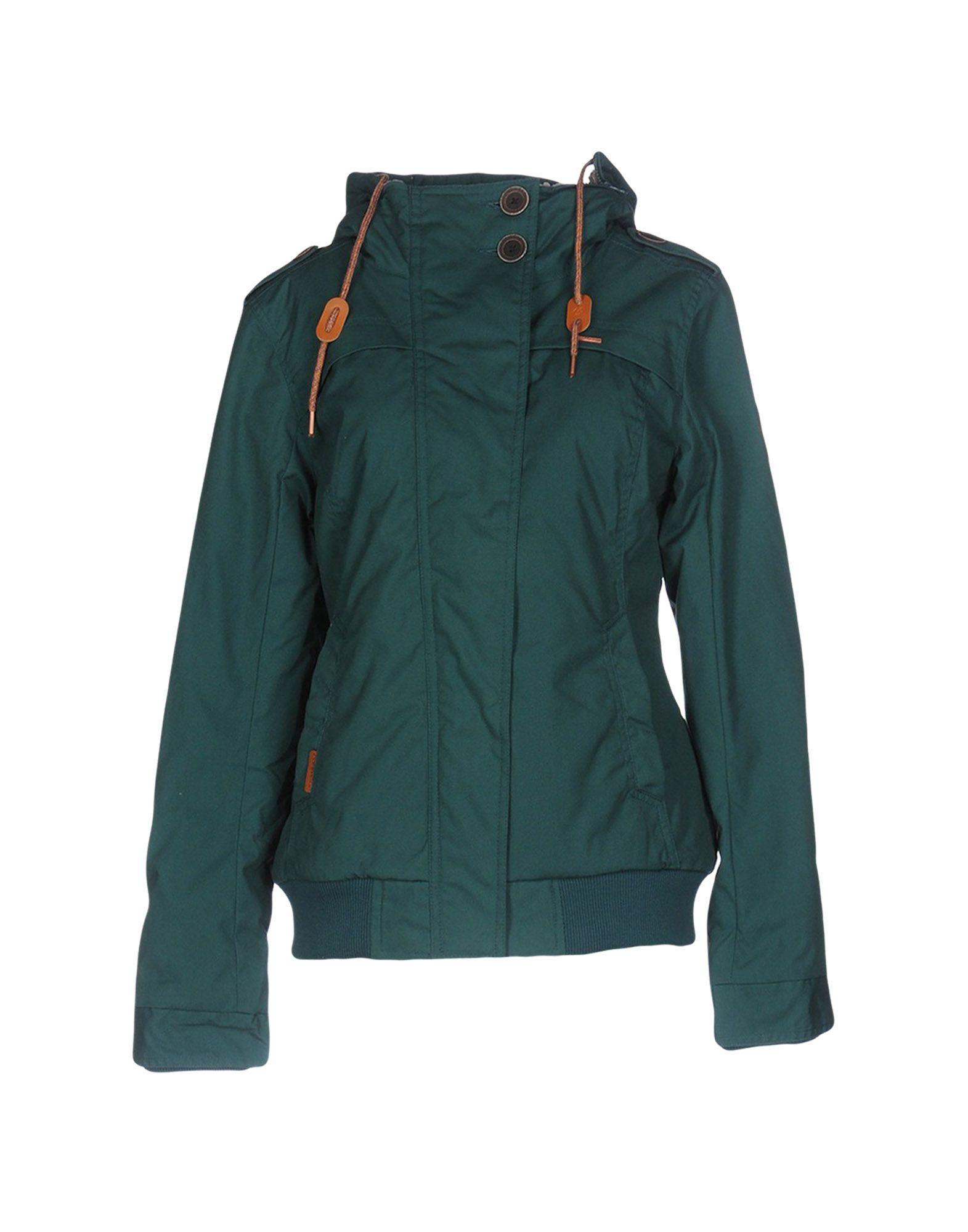RAGWEAR Damen Jacke Farbe Grün Größe 3