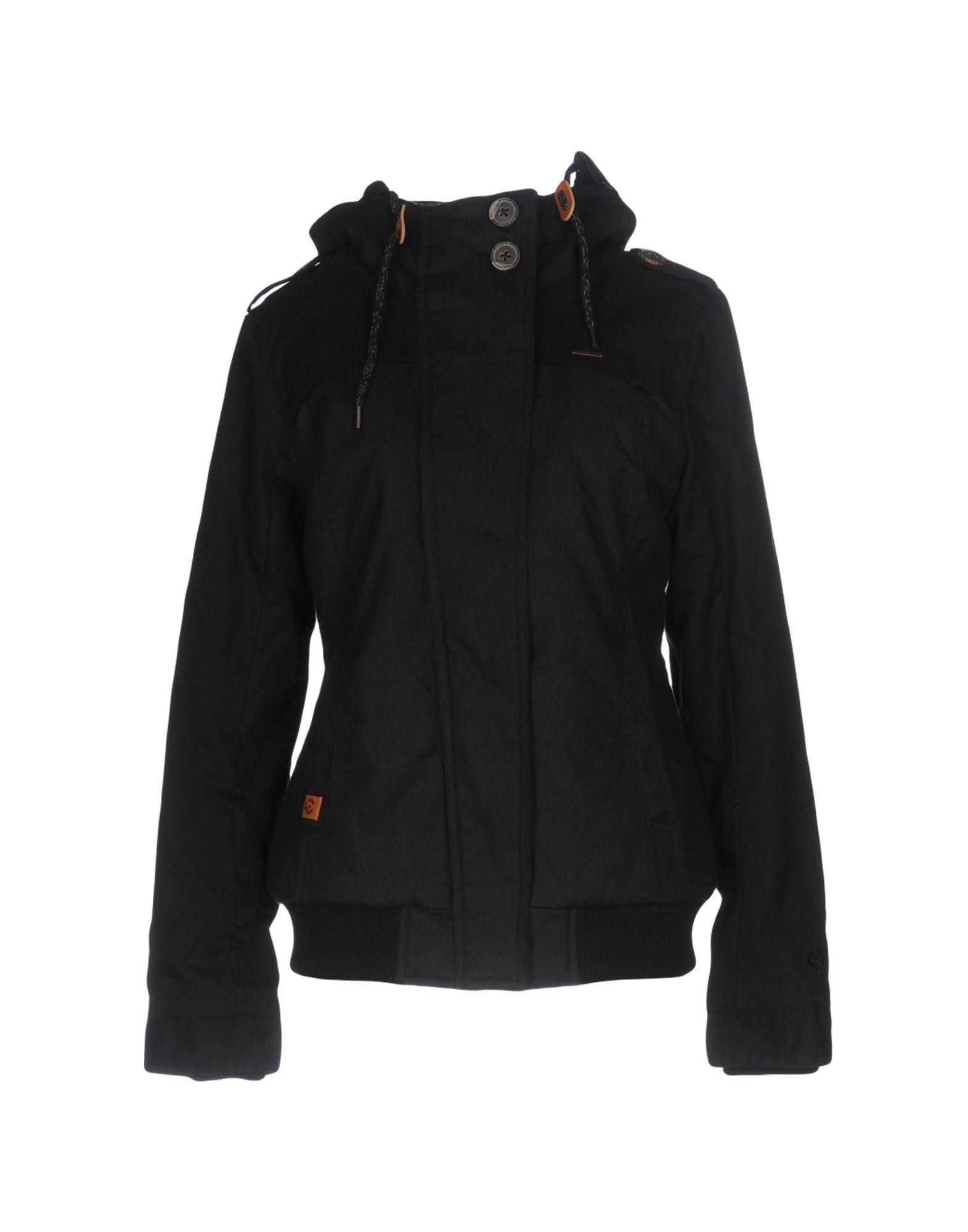 RAGWEAR Damen Jacke Farbe Schwarz Größe 3
