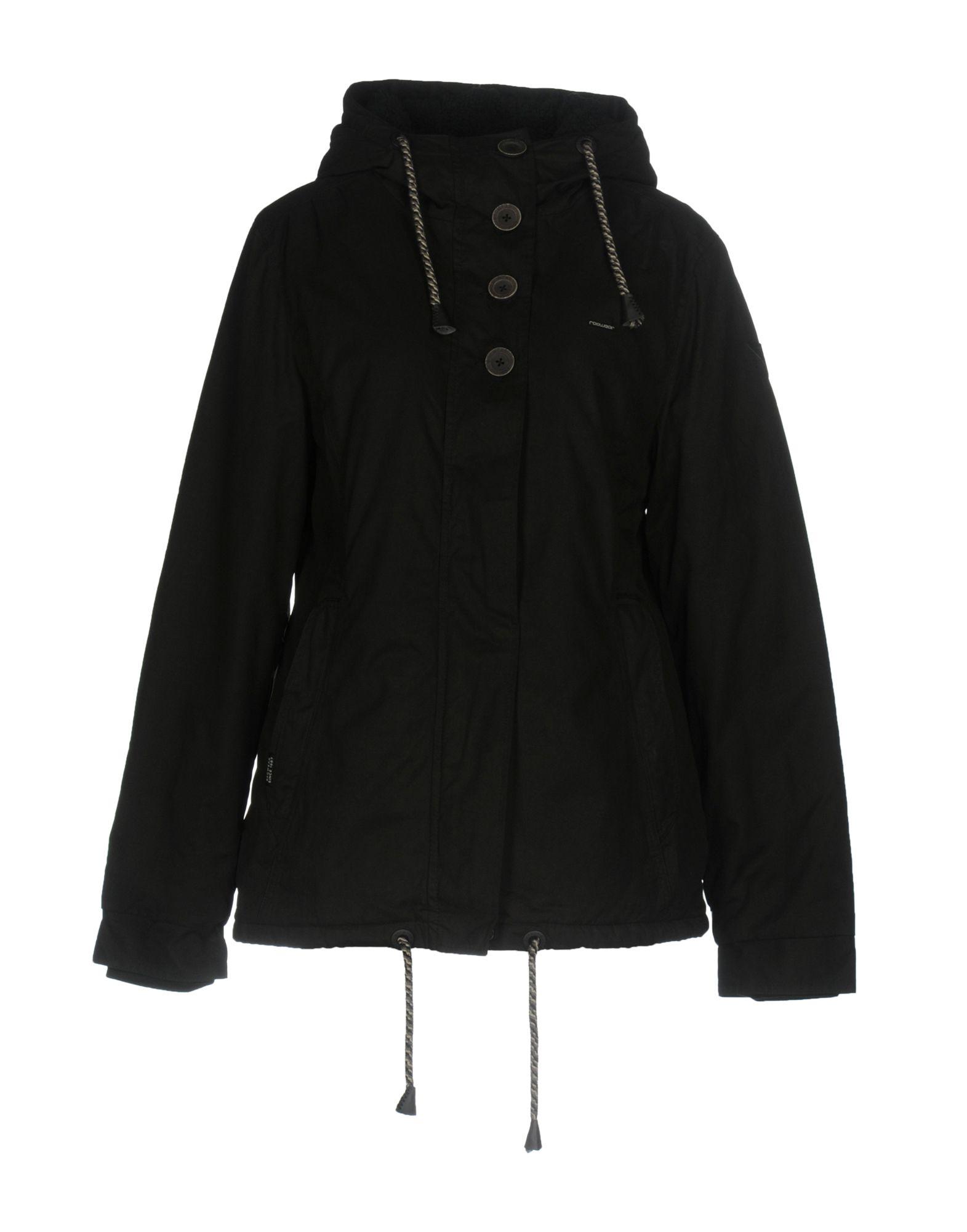 RAGWEAR Damen Jacke Farbe Schwarz Größe 7