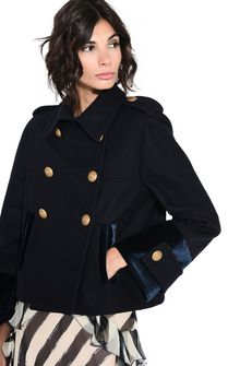 ALBERTA FERRETTI Nautical coat Short coat D e