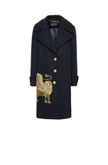 ALBERTA FERRETTI Coat with winged lion Coat Woman d