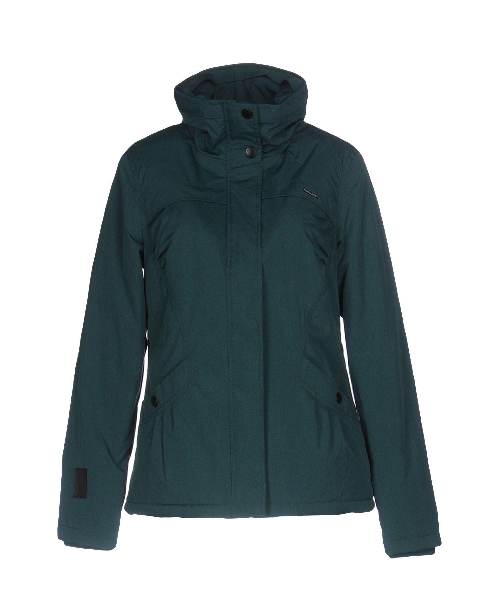RAGWEAR Damen Jacke Farbe Grün Größe 4