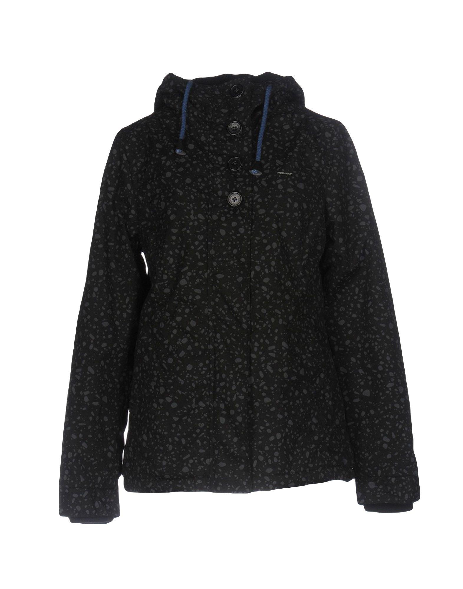 RAGWEAR Damen Jacke Farbe Schwarz Größe 5