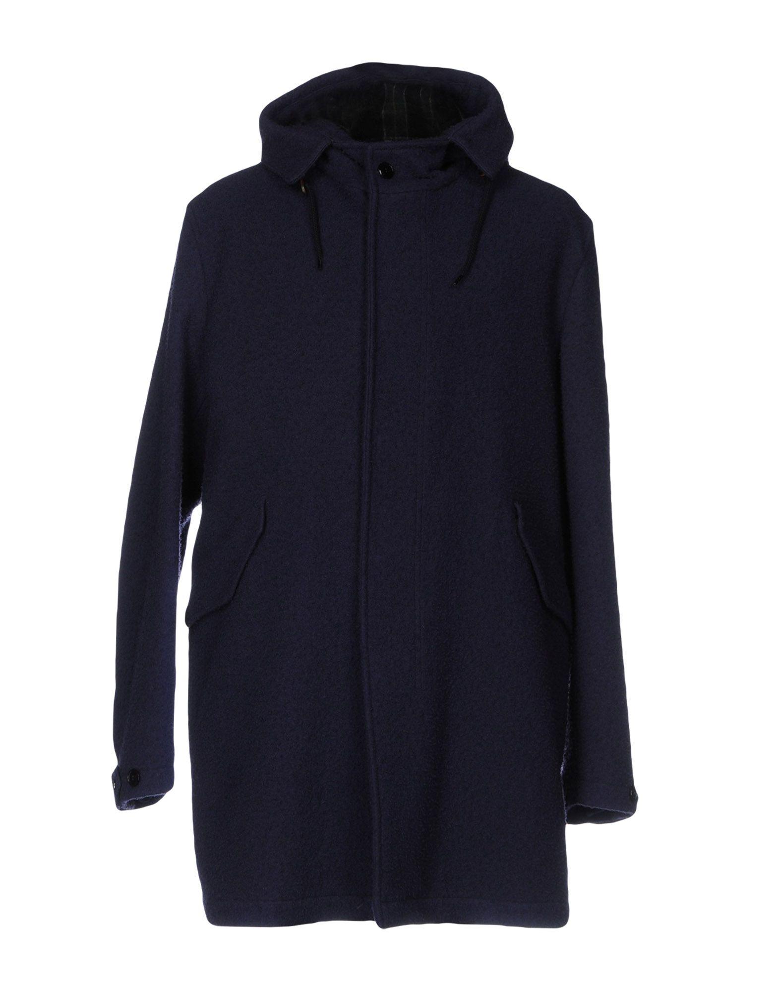 MONTEDORO Coat in Dark Blue