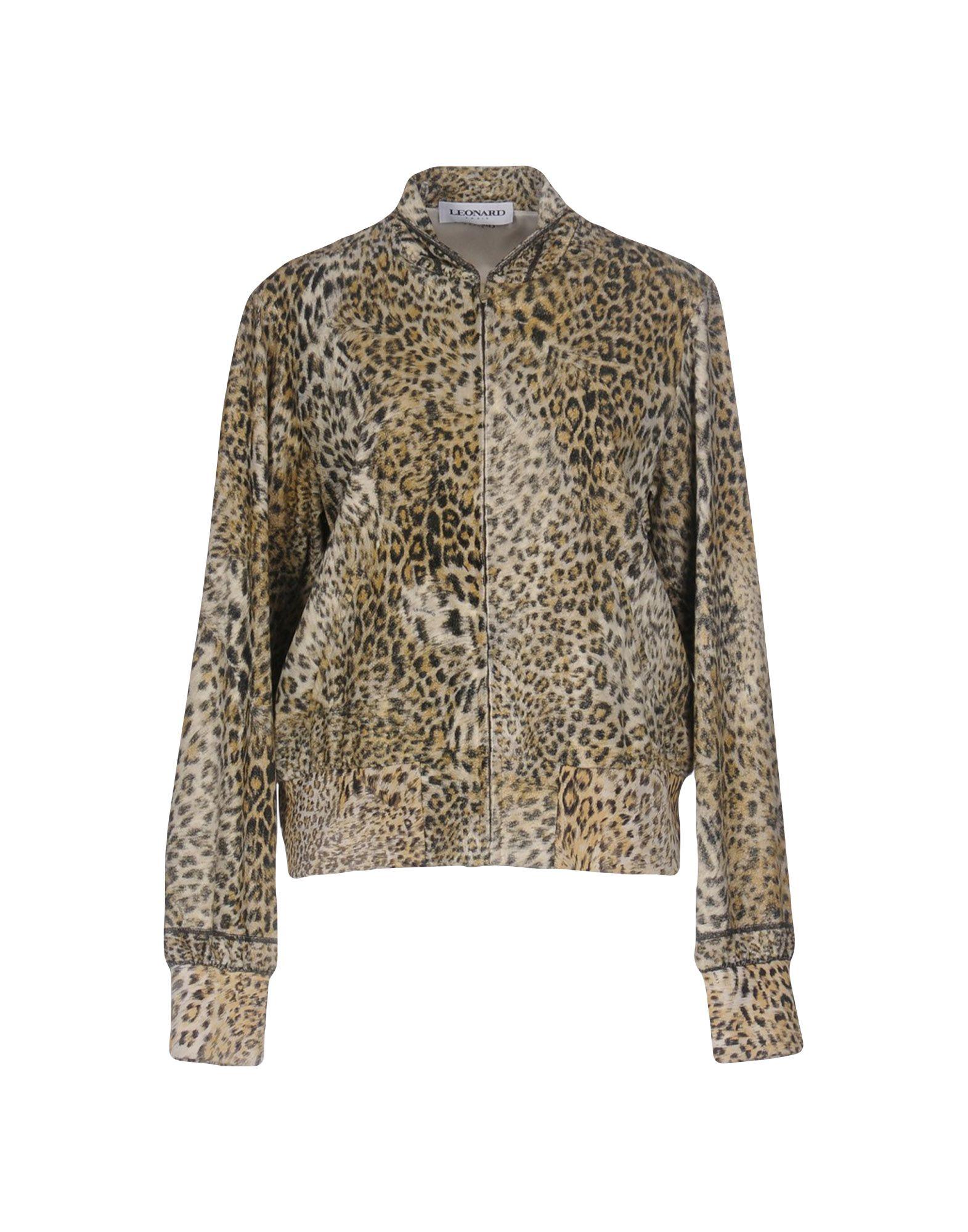 LEONARD Paris Куртка leonard домашняя одежда зауженные