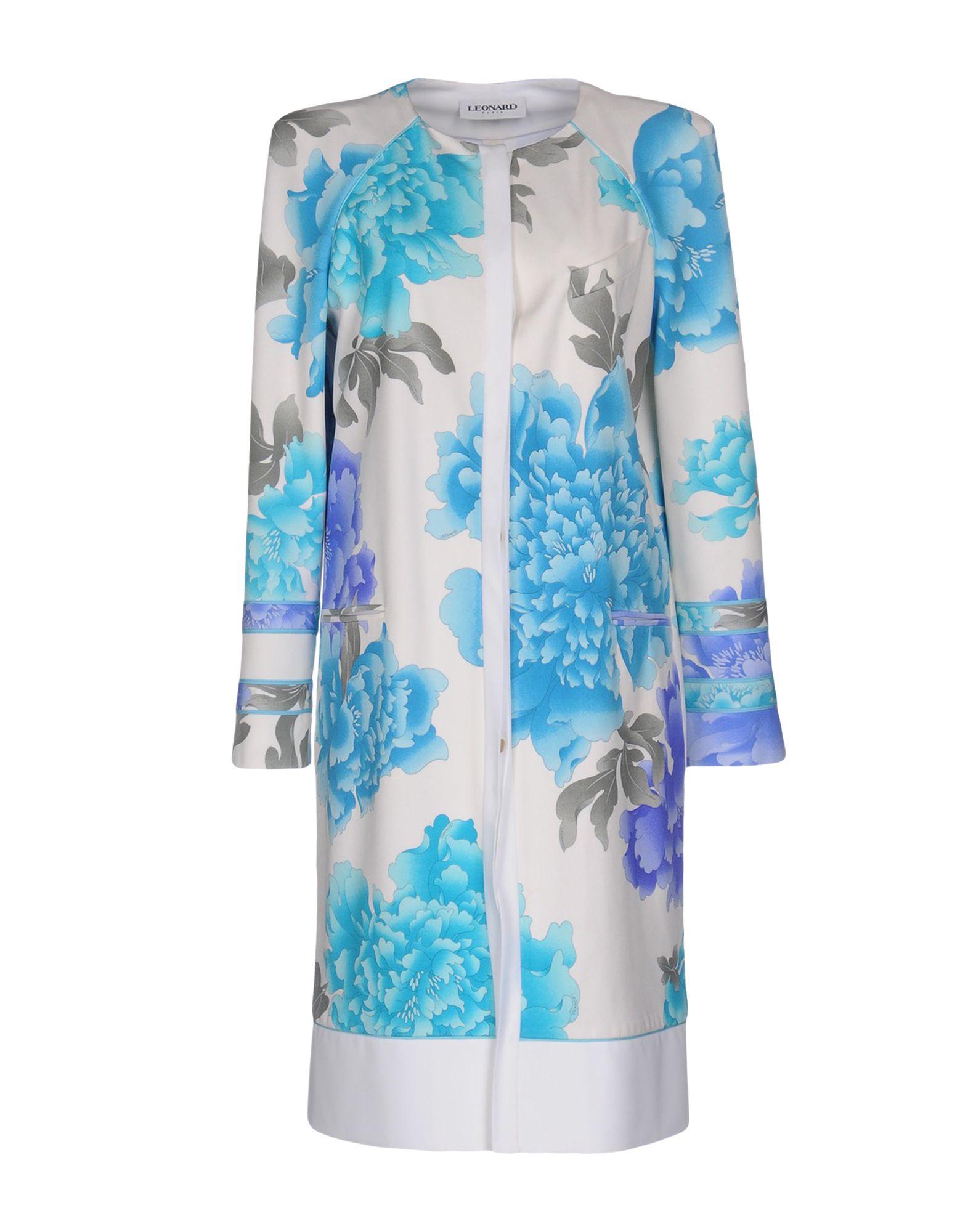 LEONARD Paris Пальто leonard домашняя одежда зауженные