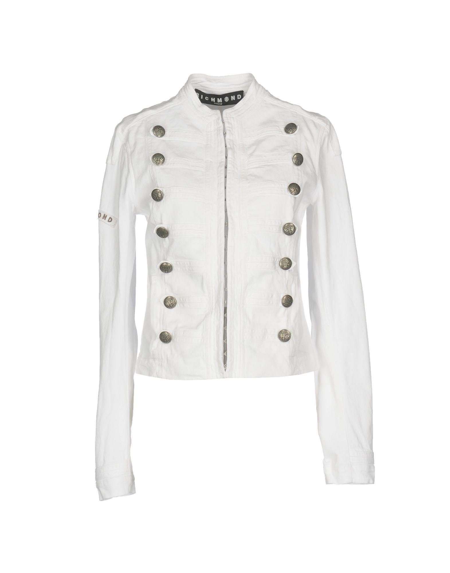 цены на RICHMOND DENIM Джинсовая верхняя одежда в интернет-магазинах