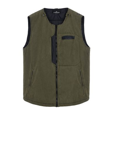 G0112 PADDED VEST WITH DROP POCKET (TELA 50 THREADS 2L) 2 LAYER FABRIC - GARMENT DYED WITH ANTI-DROP AGENT - WIND AND WATER-RESISTANT - BREATHABLE
