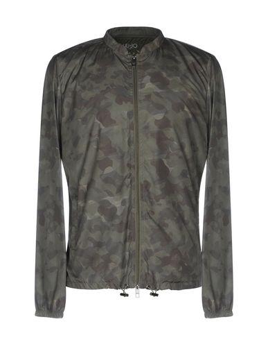 Фото - Мужскую куртку LIU •JO MAN цвет зеленый-милитари