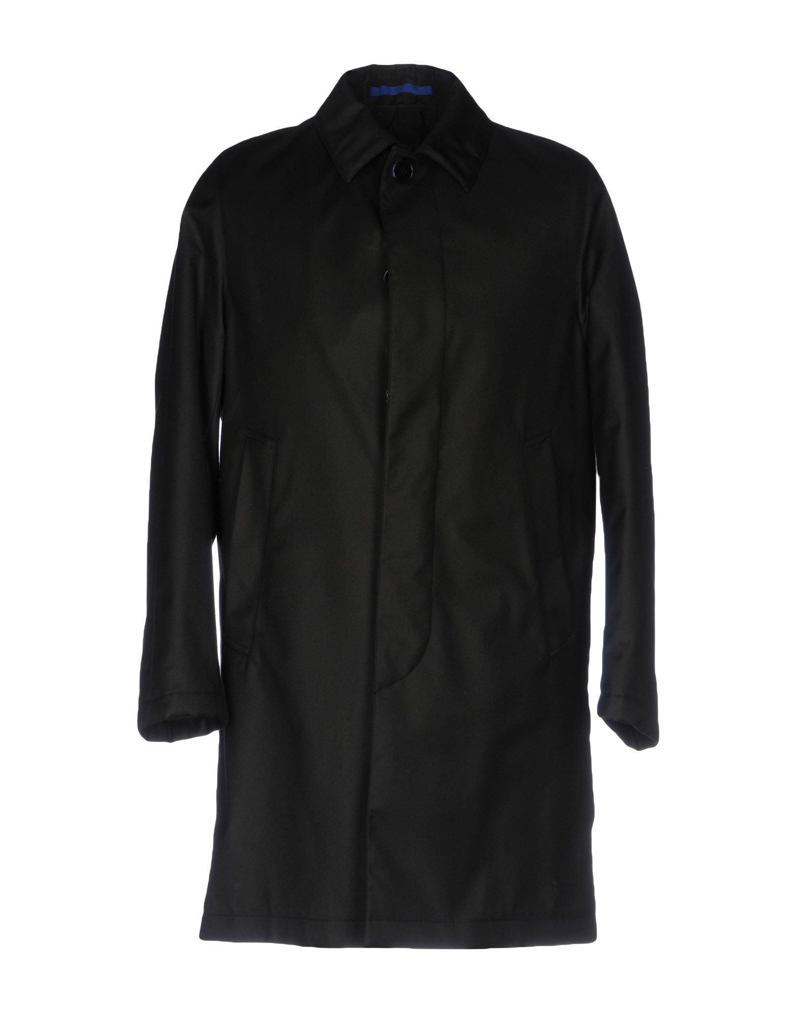 OSCAR JACOBSON Full-Length Jacket in Black