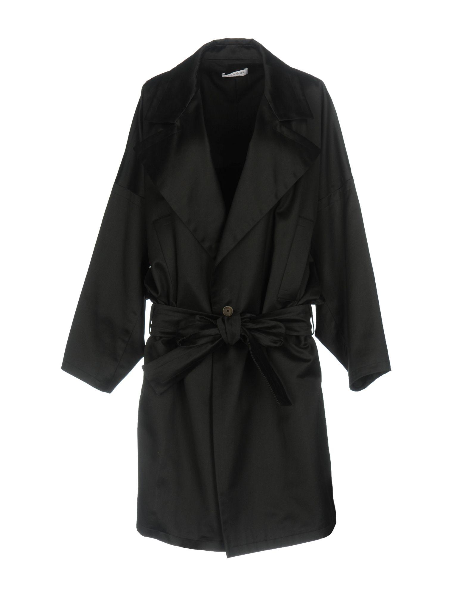 SAINT LAURENT Легкое пальто saint laurent ремень