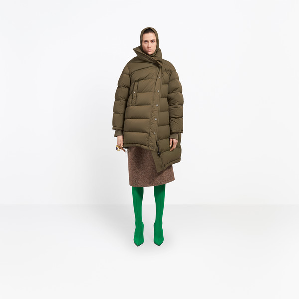 BALENCIAGA Coats Woman Pulled Puffer Jacket g