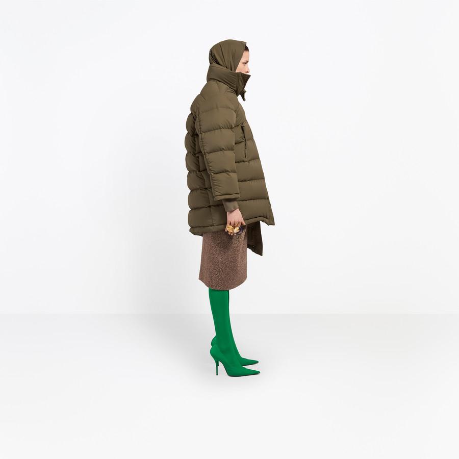 BALENCIAGA Pulled Puffer Jacket Coats Woman i