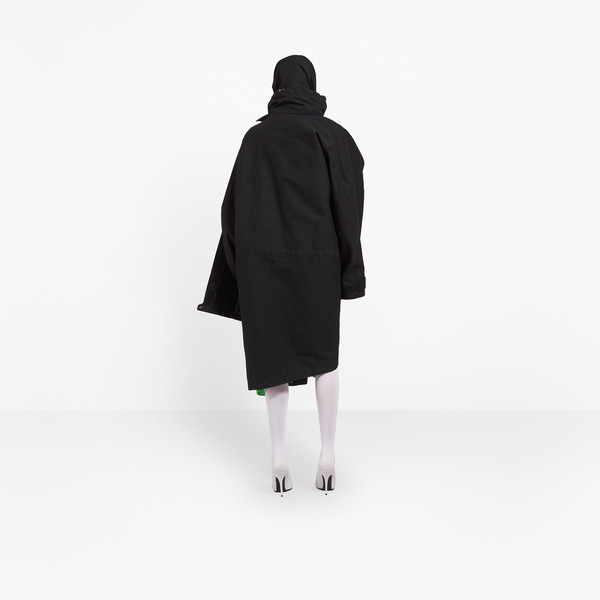 BALENCIAGA Coats D Pulled Raincoat h